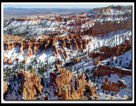 Bryce Canyon Vacation - winter in Bryce