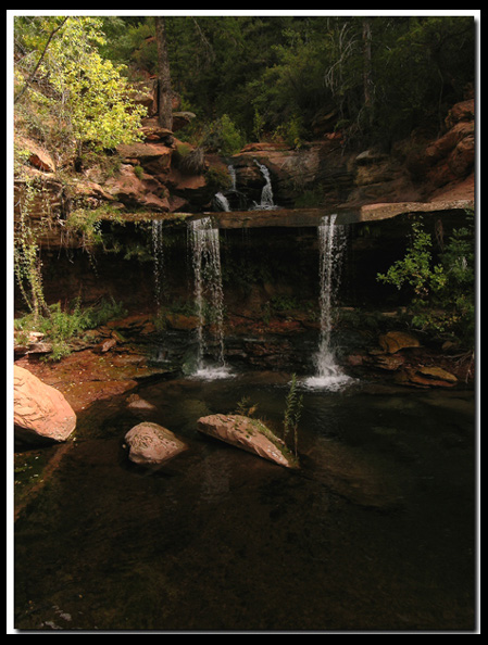 Kolob Terrace - Double Falls