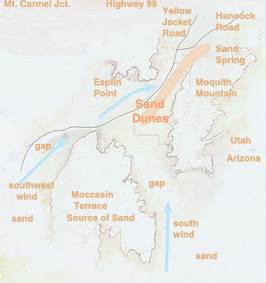 Coral Pink Sand Dunes Map
